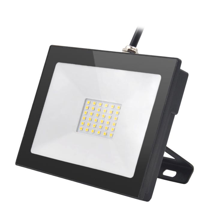 LED floodlight black