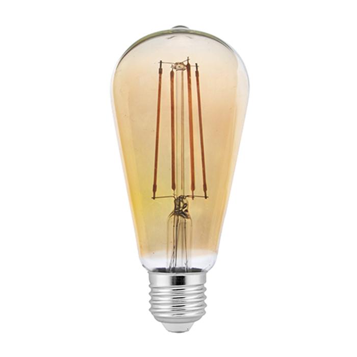 LED filament bulb ST64