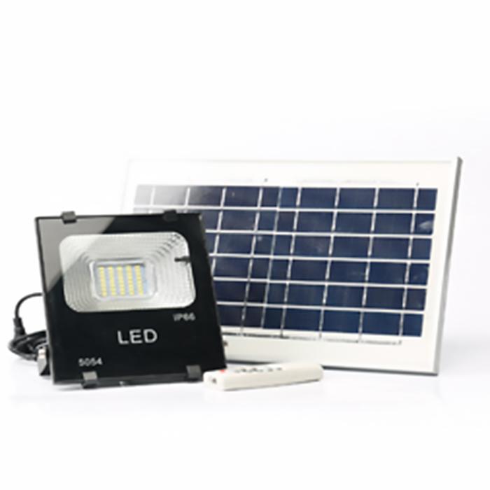 LED Solar Flood Light.