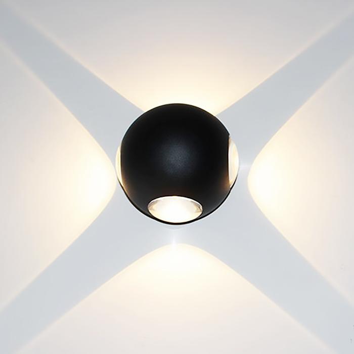 LED Wall Light Globe