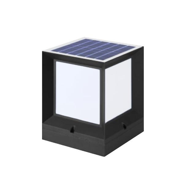 LED solar cylindrical lamp