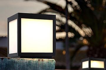 LED villa pillar lamp